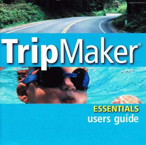 Rand McNally Tripmaker Essentials PC CD route mapping street road