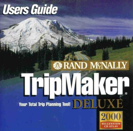 Rand McNally Tripmaker 2000 Deluxe PC CD for GPS PDAs on PopScreen