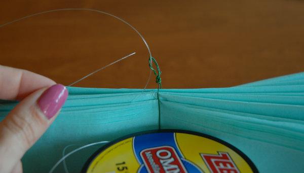 Tissue fishing line