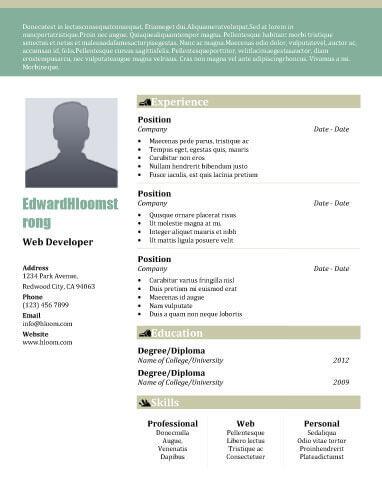 profile on resumes - Minimfagency - profile for resume
