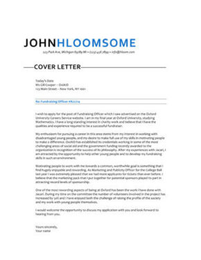 How to Write a Cover Letter [250+ FREE Templates]