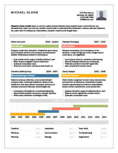17 Infographic Resume Templates Free Download - infographic resume templates