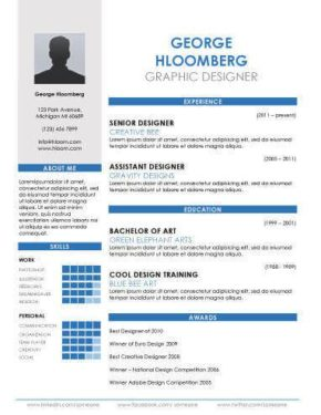 Resume Templates Top 10 Best Resume Templates Ever Free For Microsoft Word
