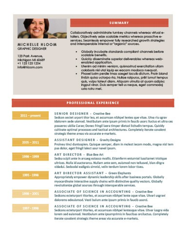 Modern Resume Templates 64 Examples - Free Download - resume template docx