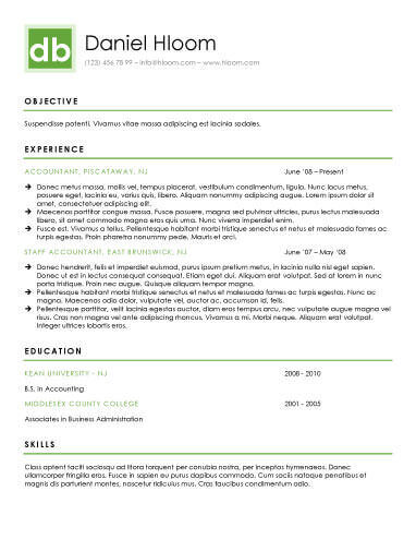 Modern Resume Templates 64 Examples - Free Download - resume exmaples