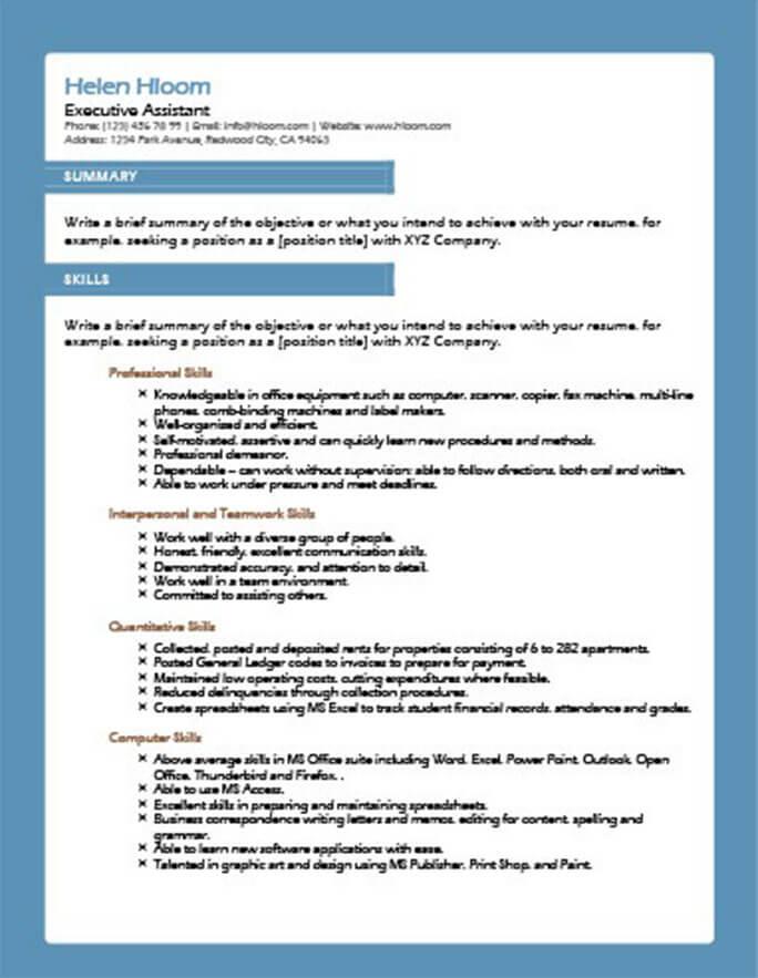 49 Creative Resume Templates Unique Non-Traditional Designs - art resume template