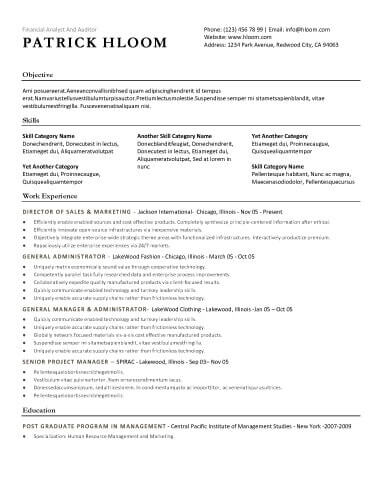 simple resume template - Gottayotti - Simple Resume Templates