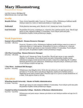 Resume Format 2017 20 Free Word Templates Free Resume Templates You'll Want To Have In 2017
