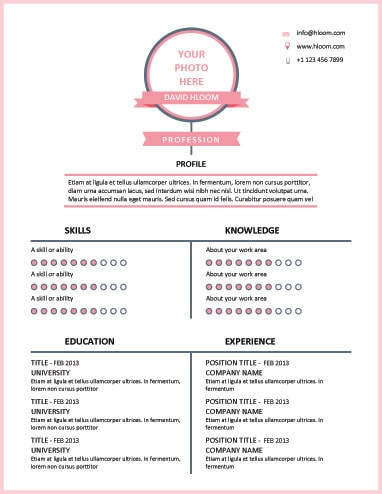 17 Infographic Resume Templates Free Download - resume work