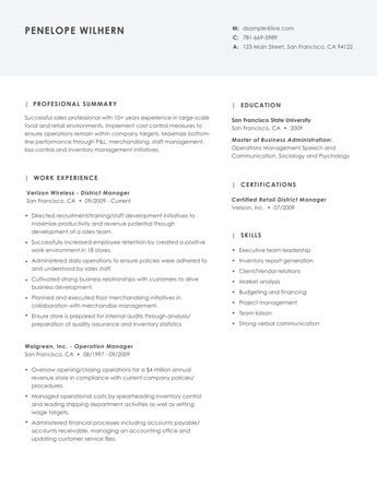 Resume Examples \u2022 Hloom - resume examples