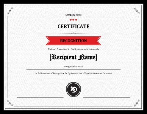 27 Printable Award Certificates Achievement, Merit, Honor