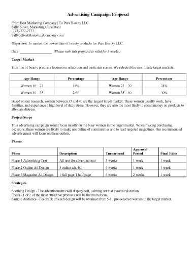 32 Sample Proposal Templates in Microsoft Word - contractor proposal template word