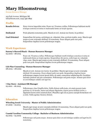 19 Free Resume Google Doc Templates (Download)