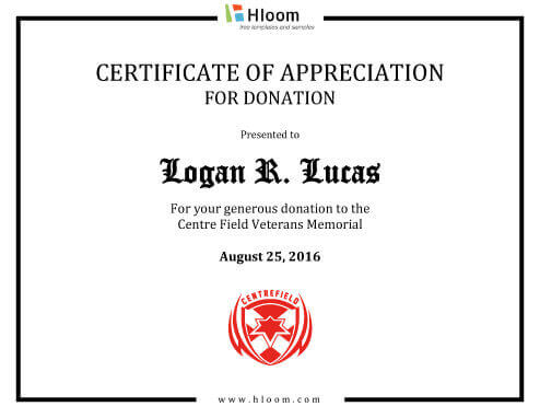 8 Free Printable Certificates of Appreciation Templates - certificate of appreciation