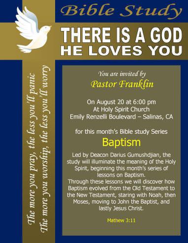 invitation to church service flyer - Josemulinohouse