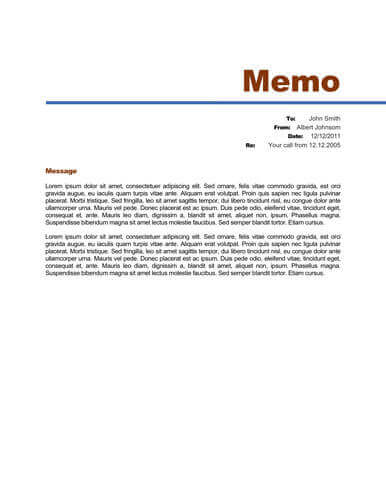 example of persuasive memo