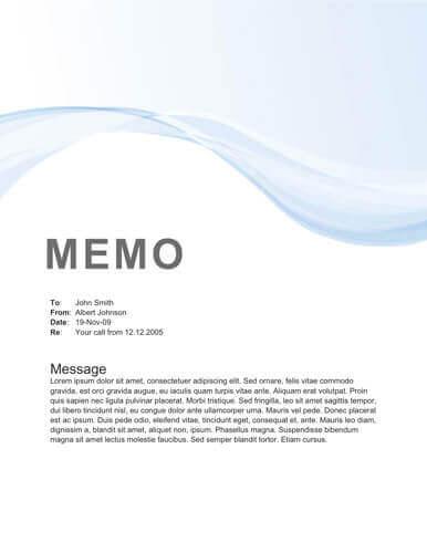 Memo Format Bonus 48 Memo Templates - inter office communication letter