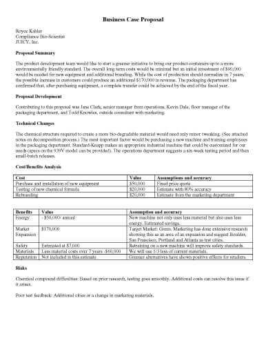 32 Sample Proposal Templates in Microsoft Word - sample business proposals