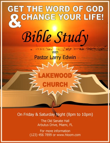12 Free Flyers to Promote Church Events Download