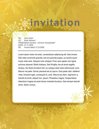 14 Free DIY Printable Christmas Invitations Templates - holiday party invitations free
