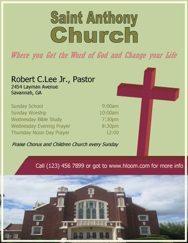 12 Free Flyers to Promote Church Events Download - flyers design samples