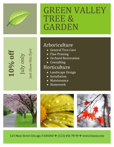 15 Lawn Care Flyers Free Examples + Advertising Ideas - coupon flyer