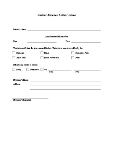 Doctor\u0027s Note Templates \u2022 Hloom - doctors note template