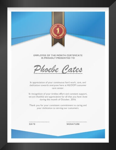 Certificate of Recognition Template - Examples Of Certificates Of Recognition