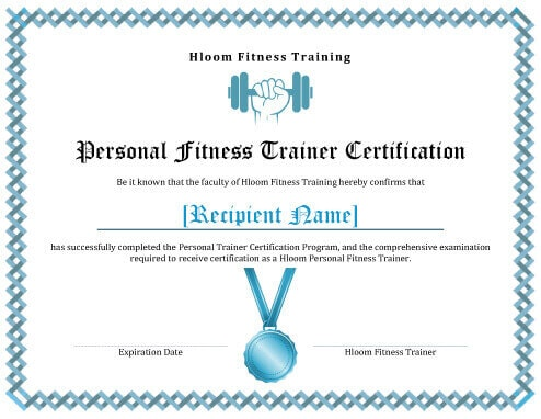 7 Training Certificate Templates Free Download