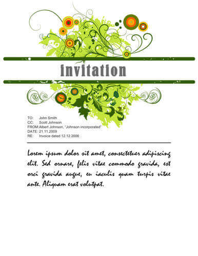 26 Free Printable Party Invitation Templates in Word - party invitation templates word