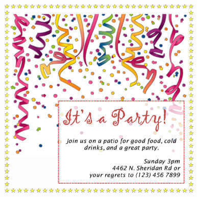 60 Free DIY Printable Invitation Templates in Word - business meet and greet invitation wording
