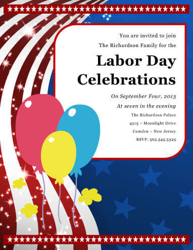 14 Free Labor Day Flyers - labour day flyer template