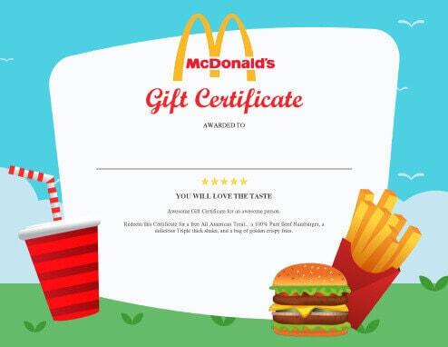 13 Free Printable Gift Certificate Templates Birthday, Christmas