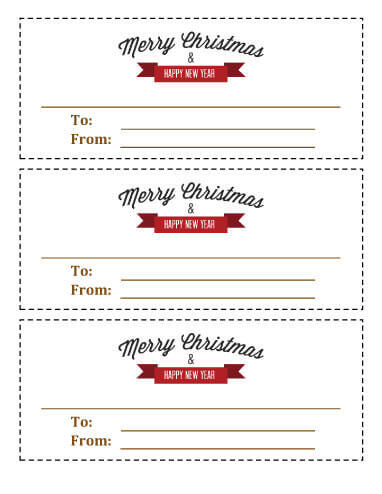 21 Free Printable Christmas Coupons - printable coupon templates free