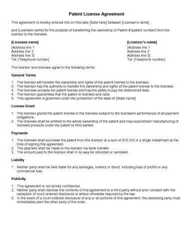 31 Sample Agreement Templates in Microsoft Word - agreement between two parties template