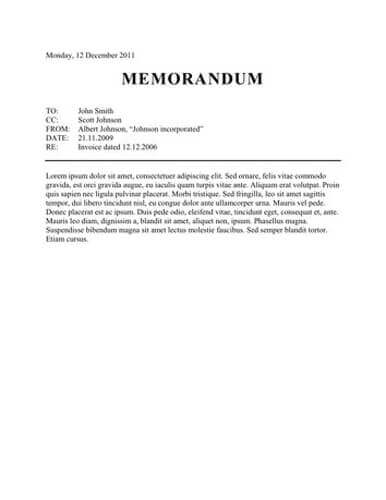 Memo Format Bonus 48 Memo Templates - memo sample in word