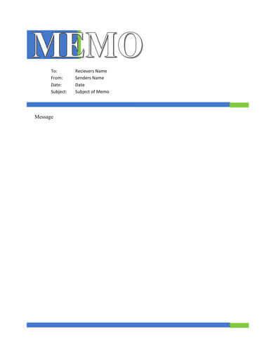Memo Format Bonus 48 Memo Templates - free memo template