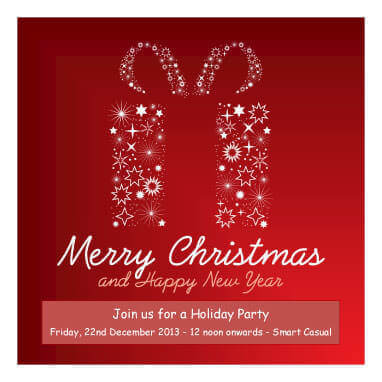 43 Free Christmas Flyer Templates for DIY Printables - holiday closure sign template
