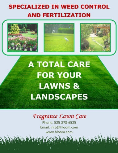 15 Lawn Care Flyers Free Examples + Advertising Ideas - lawn services flyer