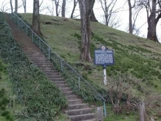 Prehistoric Mounds Marker Photo, Click for full size