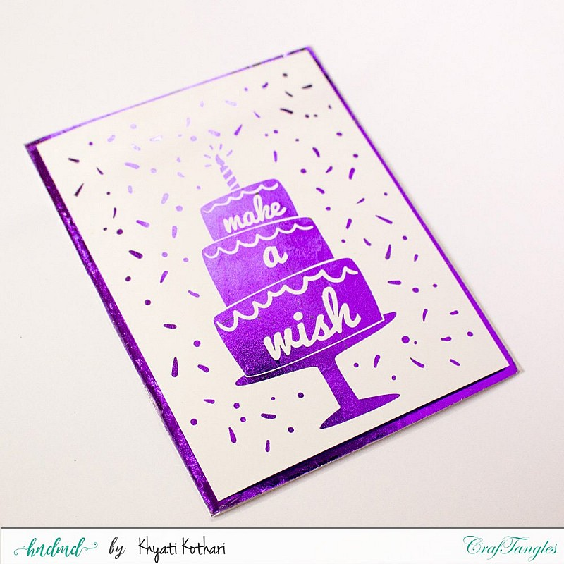 Buy Free downloadable A2 card size printables for foiling ( 2 A4