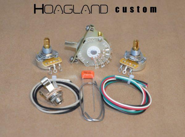 Tele Style Wiring Harness Kit \u2013 4-Way Switching \u2013 Hoagland Custom