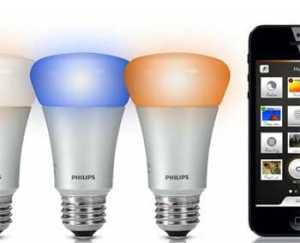 Philips Hue ambient lighting system