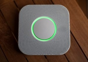 Nest protector carbone monoxide and smoke detector