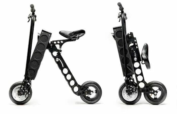URB-E compact foldable electric bike