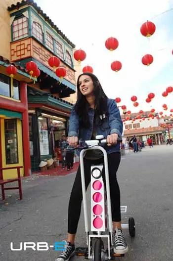 URB-E foldable electric bike