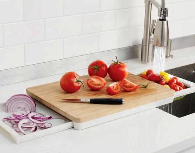Chef'n Prepstation 3 in 1 cutting board