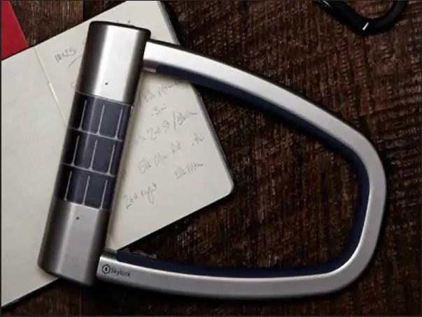 Skylock-solar-powered-smart-bike-lock
