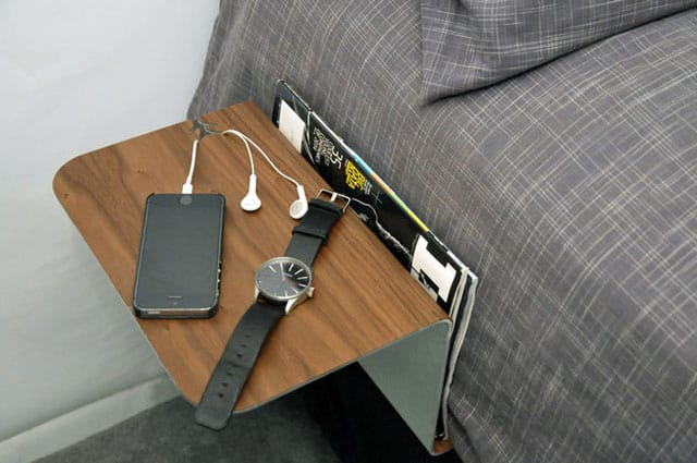 portable bedside table