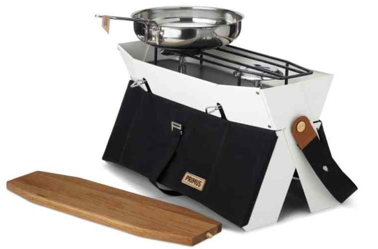foldable stove in a bag
